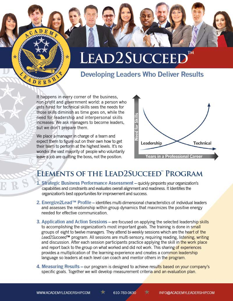 Download Lead2Succeed Brochure