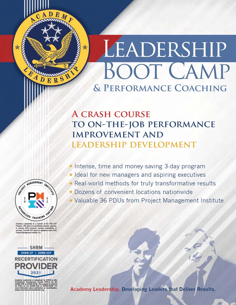 Download Leadership Boot Camp Brochure