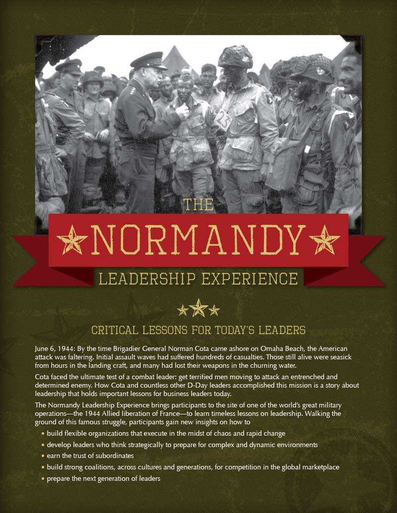 Download Normandy Leadership Experience Brochure